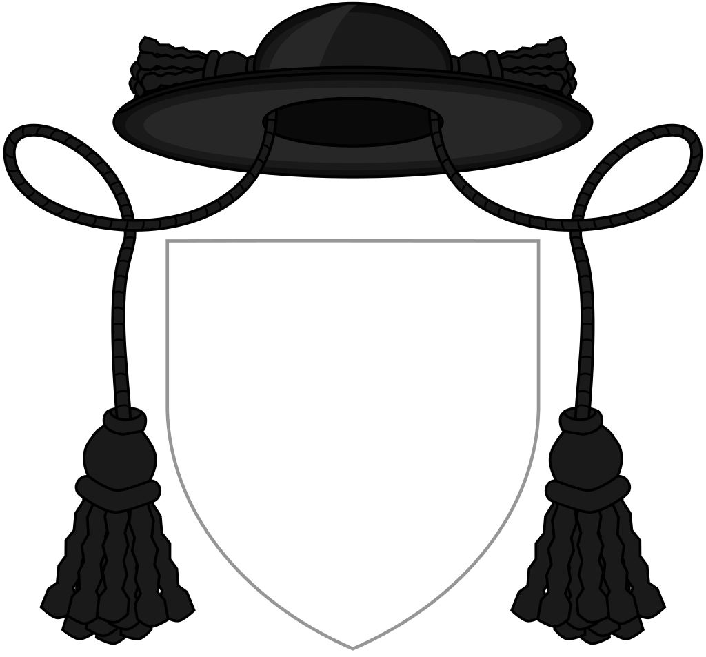 Monkas clipart roman catholic priest. Coat of arms a