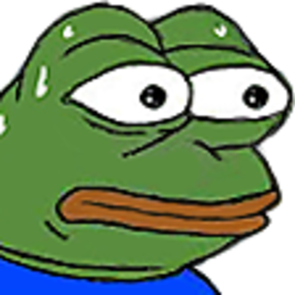 Pepe vector emote. Monkas know your meme