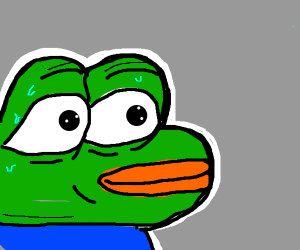 Monkas png nervous. Drawception