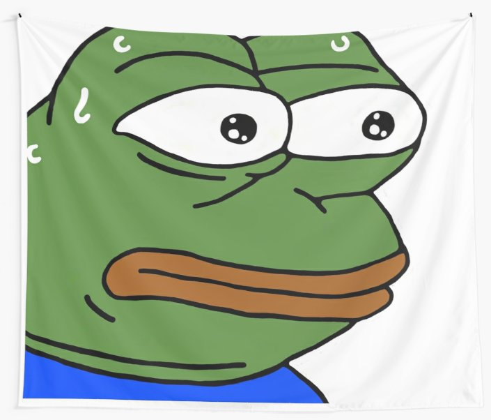 Monkas png transparent. Twitch emote wall tapestries