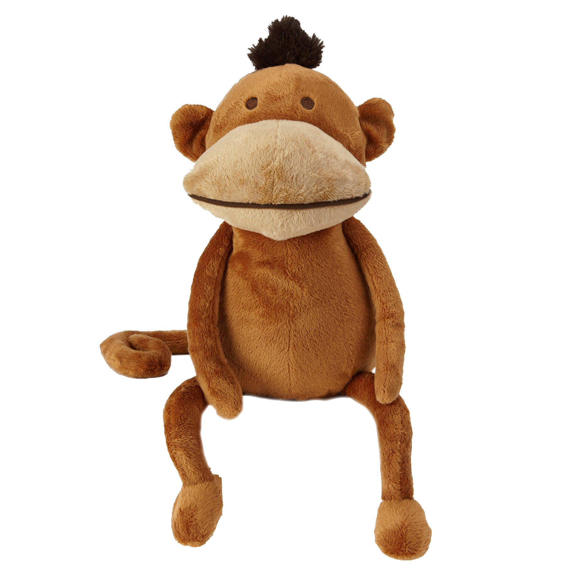 Monkey. Instant gratification plush toy
