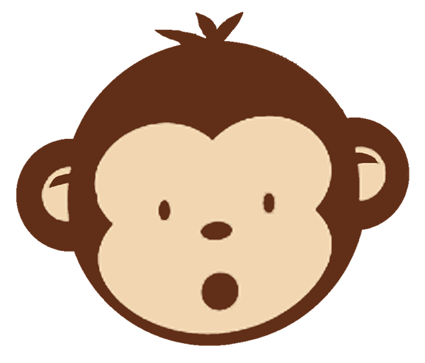 Teeth clipart monkey. Free sock download clip