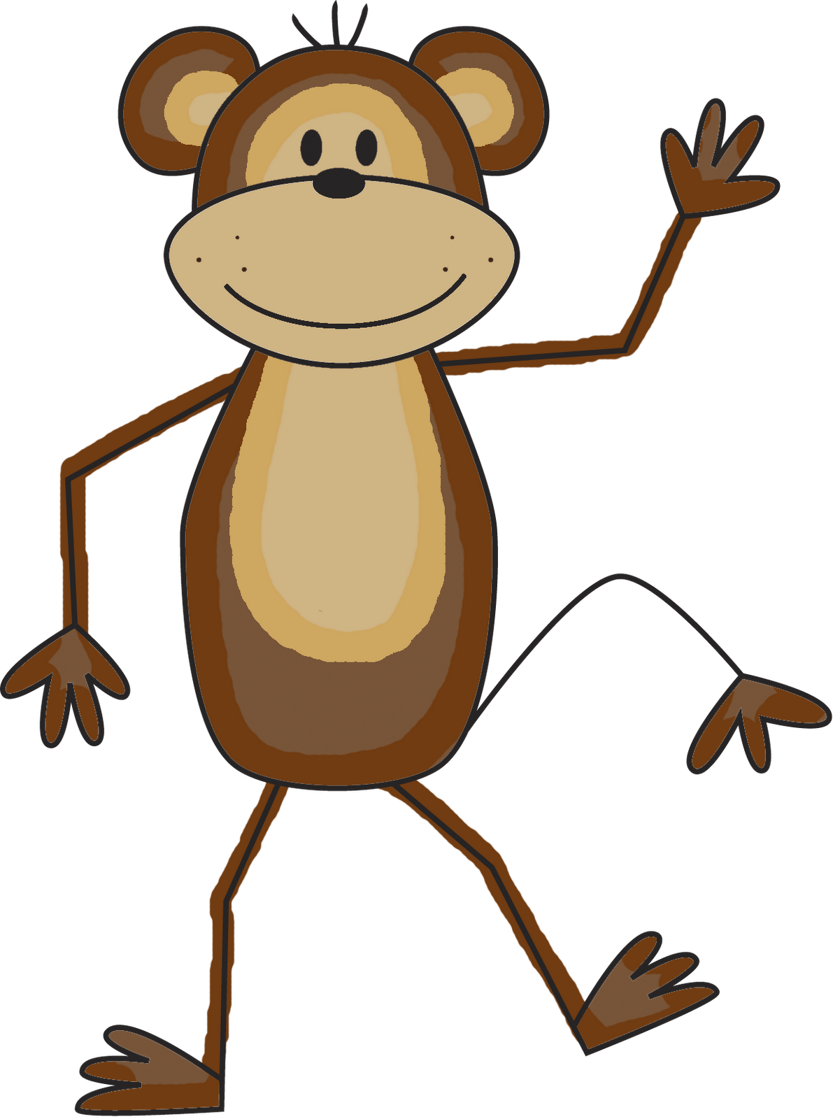 Monkey clipart png. Best free icons and