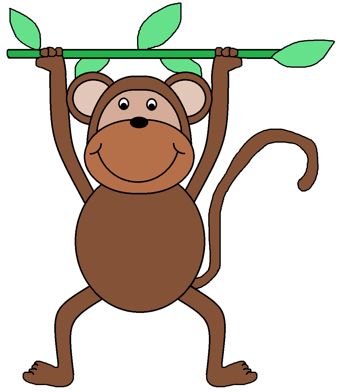 Teeth clipart monkey. Free safari cliparts download