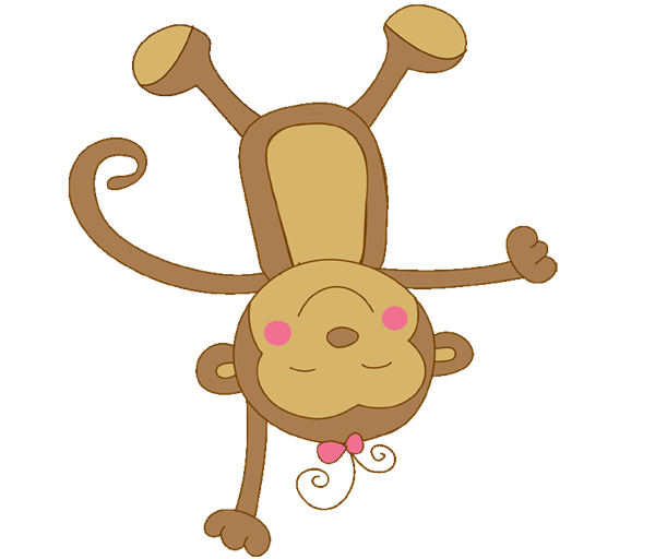 Monkey girl png. Collection of drawing