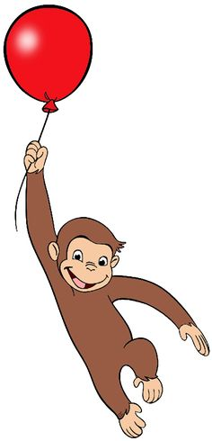 Curious george clipart. Free printable monkey clip