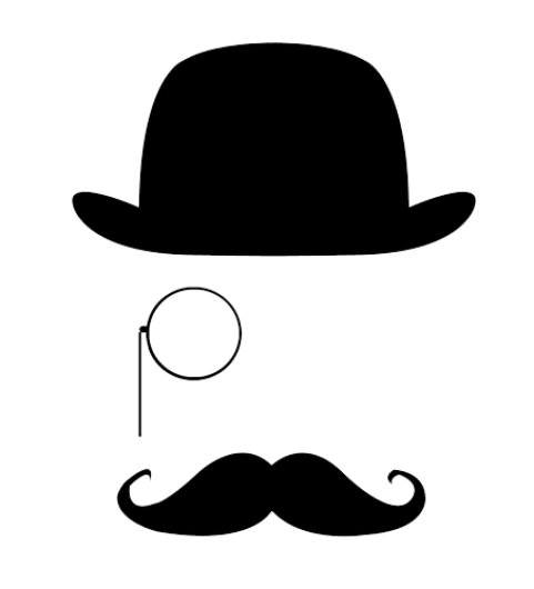 Monocle png. Top hat transparent image