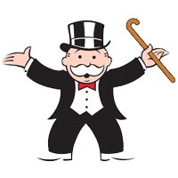 Monopoly man png. Images in collection page