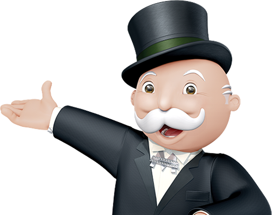 Monopoly man png. Online play hasbro