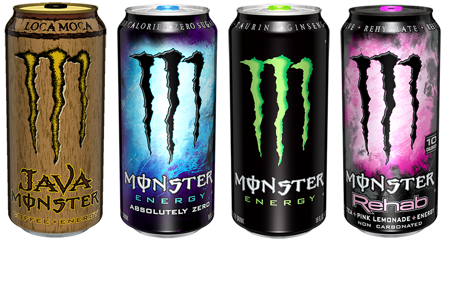 Monster can png. Energy drink sizes formulaoffroad