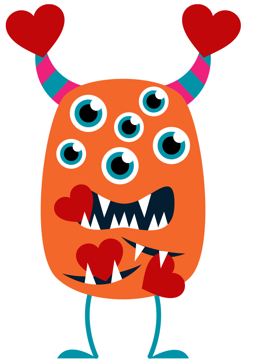 Monster clip math. Clipart at getdrawings com