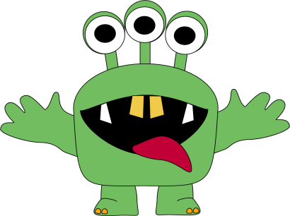 Monster clipart. Silly at getdrawings com