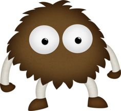 Monster clipart brown monster. T r pinterest