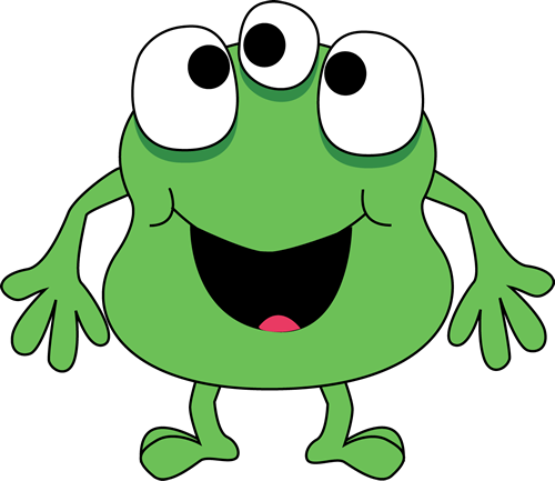 Green monster png. Clip art images threeeyed