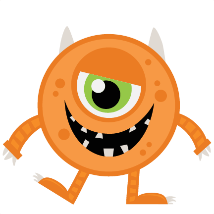 vector monsters svg free
