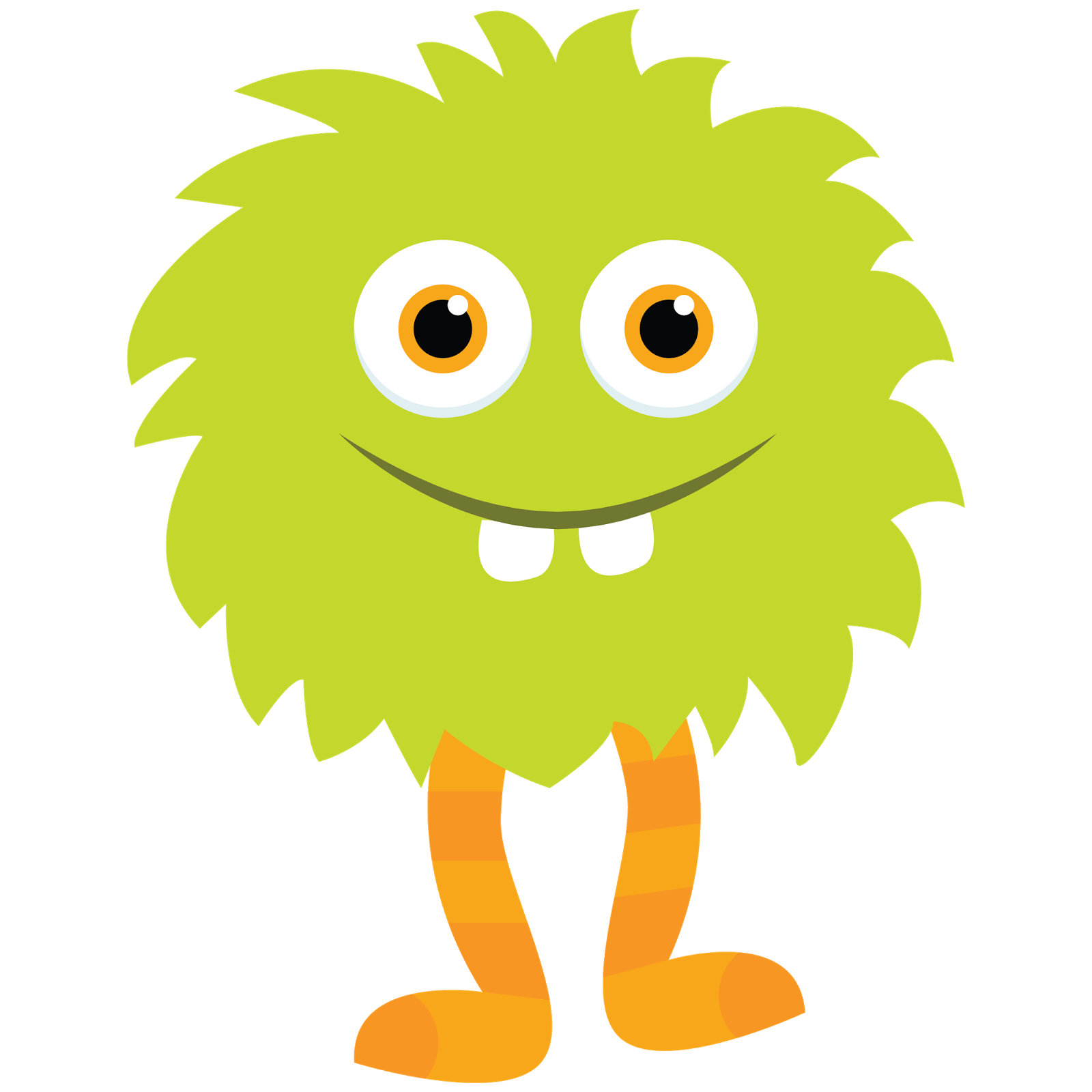 Monster clipart lil monster. Little green by apples