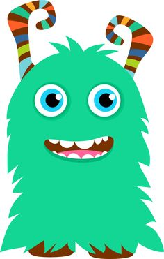 Monster clipart lil monster. Corazon pinterest monsters
