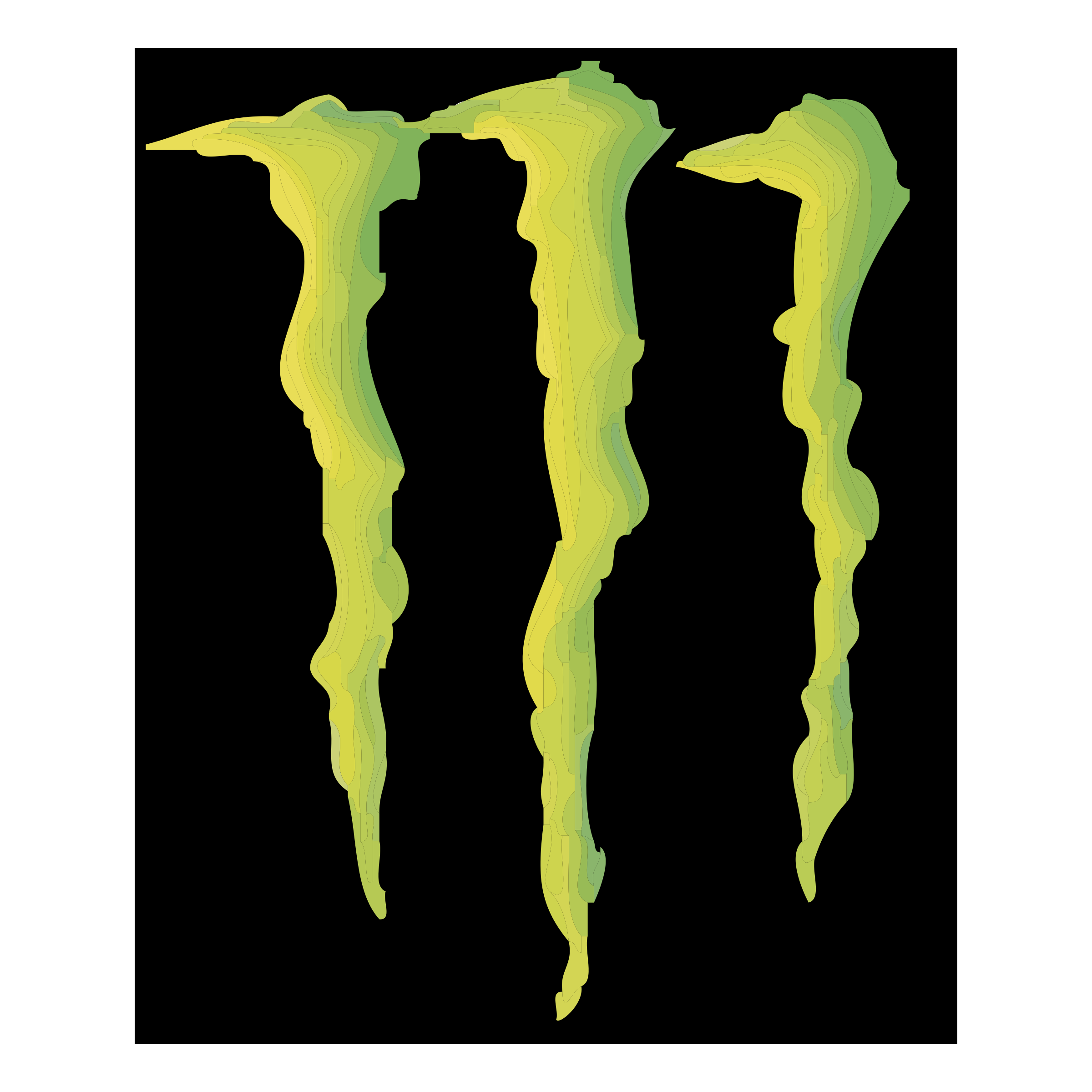 Vector monster logo. Energy beverage co png