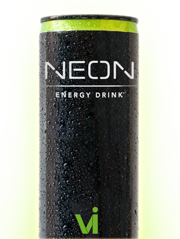 Monster drink png. Neon energy body by