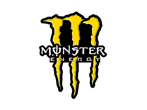 Monster energy logo png. Yellow decals by xx