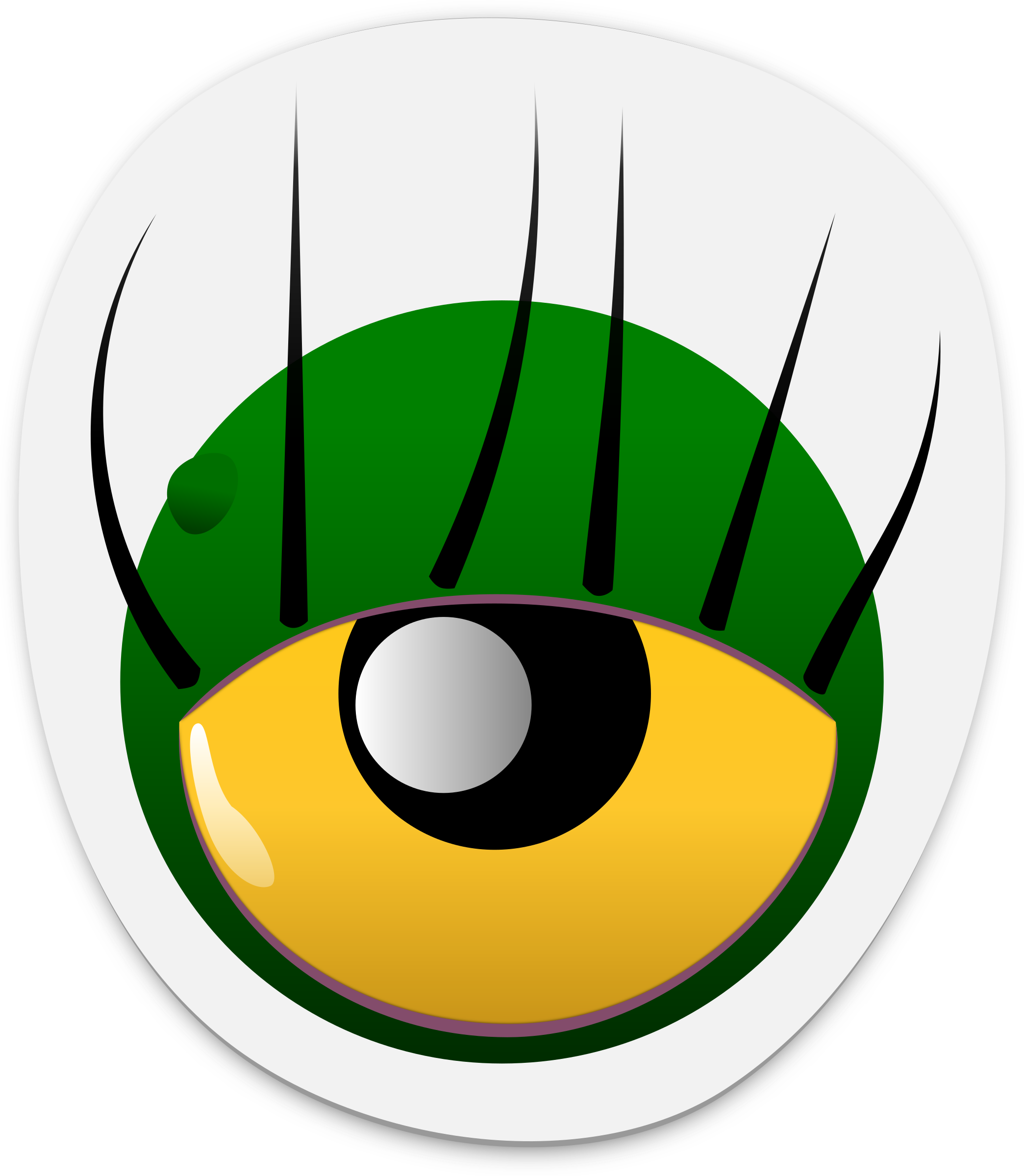 Monster eye png. Sticker icons free and
