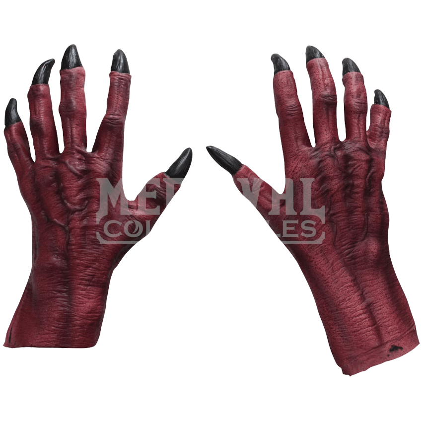 Monster hands png. Red claw costume hs