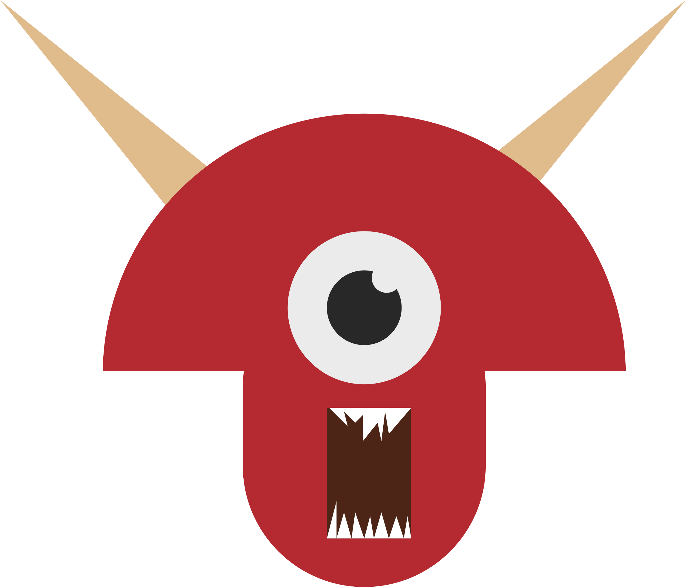 Monster head png. Clipart big image