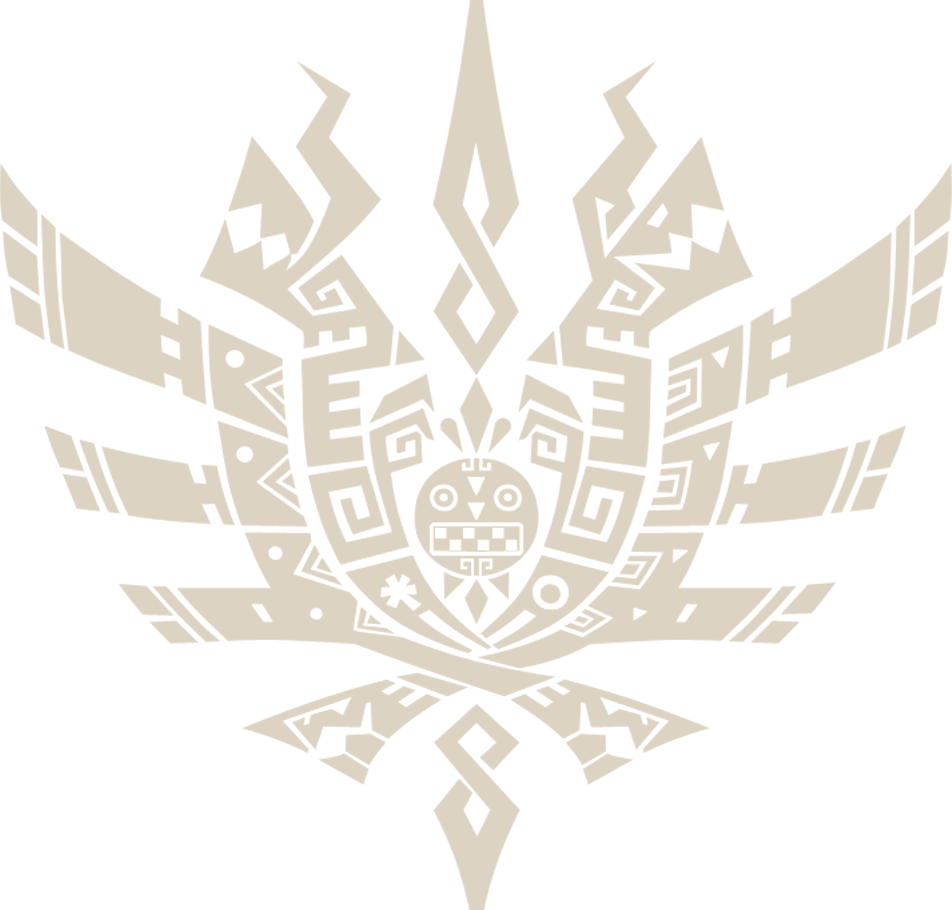 Monster hunter logo png. Image mh symbol wiki