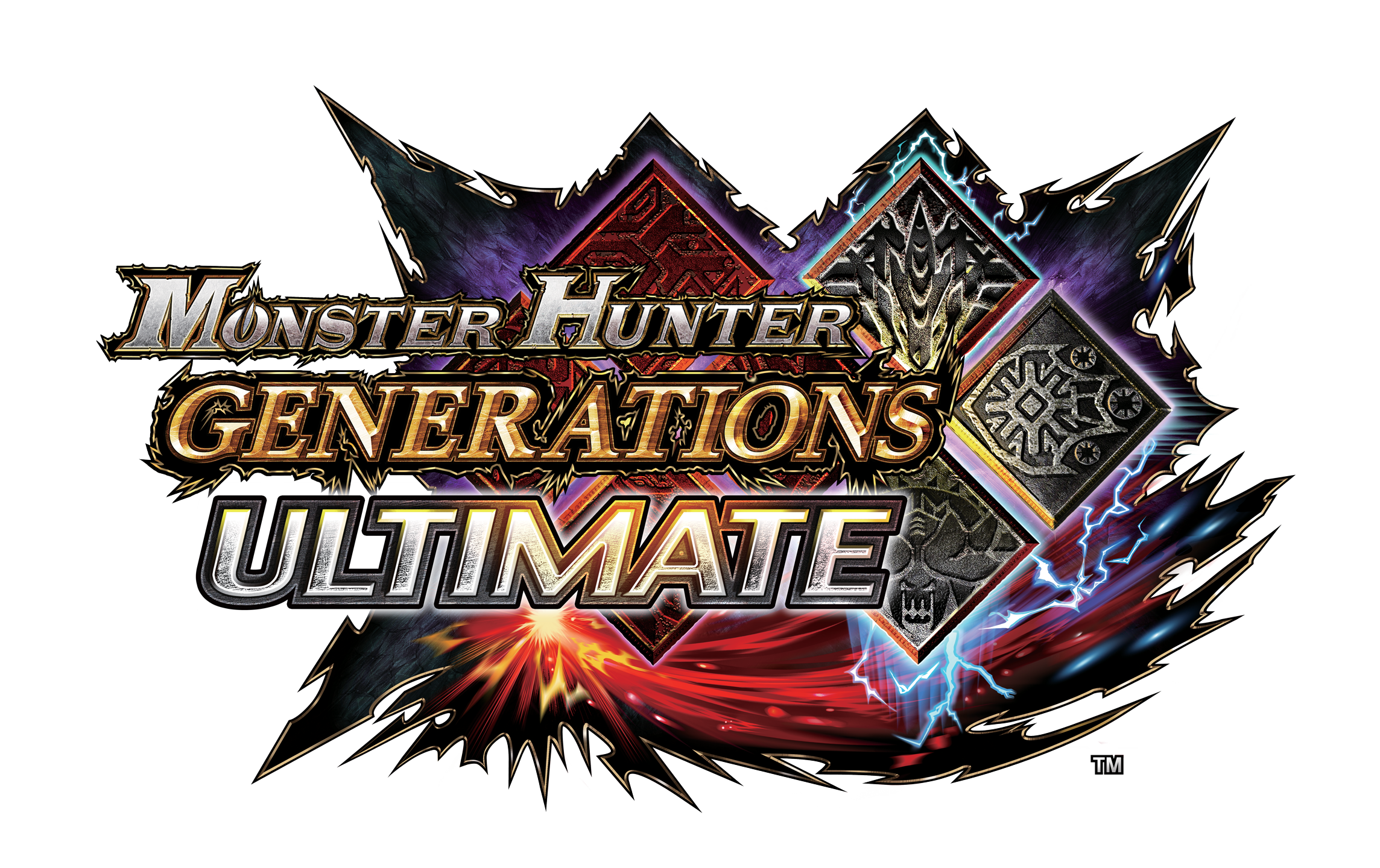Monster hunter logo png. Generations ultimate arrives this