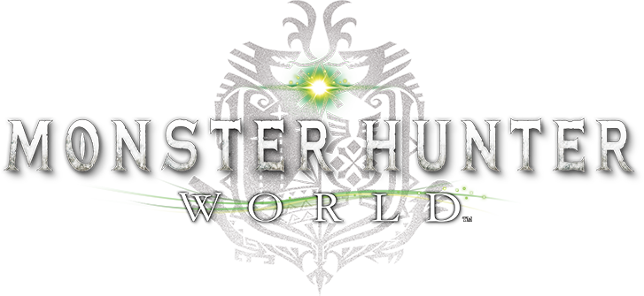 Monster hunter logo png. World select language