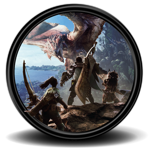 Monster hunter world png. Icon by malfacio on
