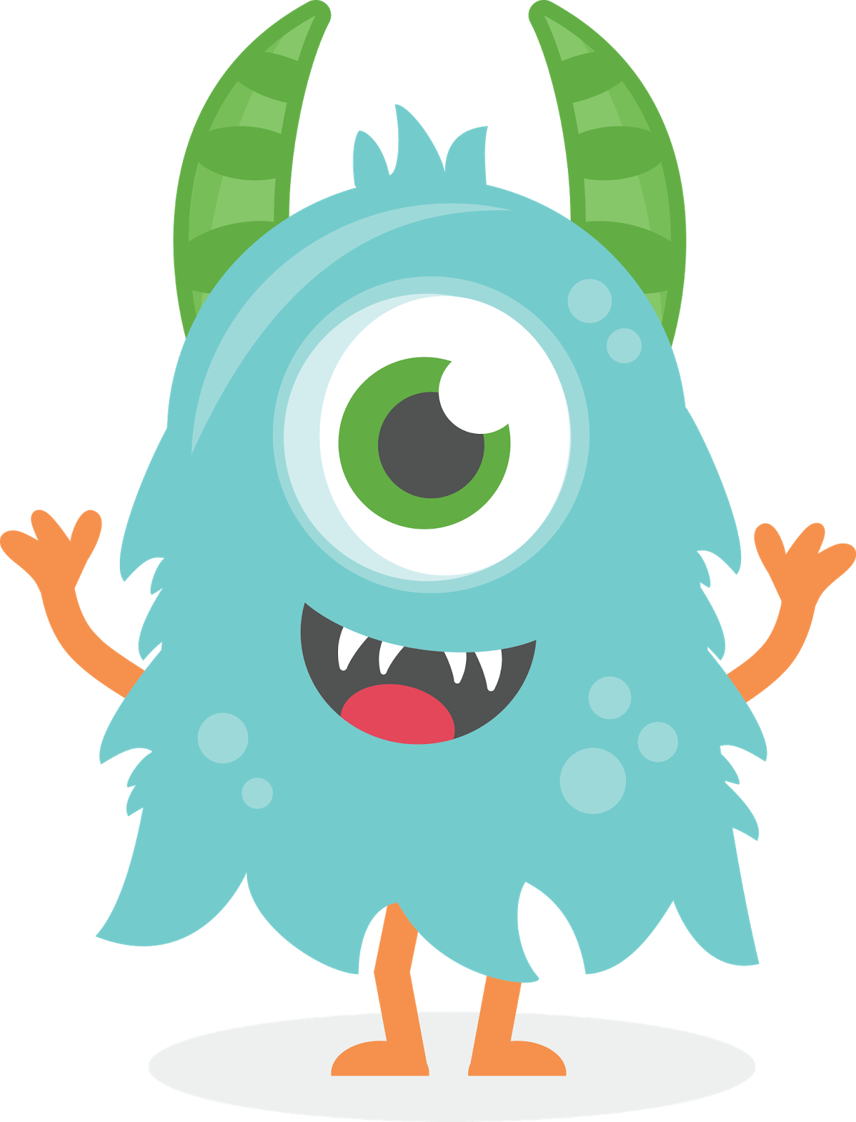 Vector monster file. Clipart cute pesquisa google