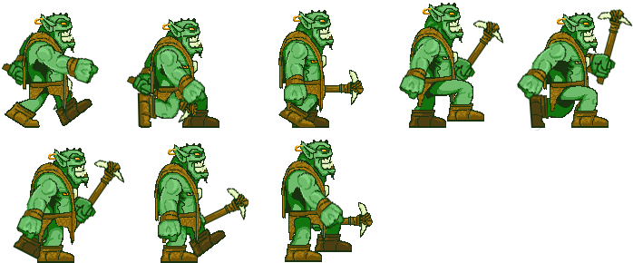 Monster sprite png. Poly want a pixel