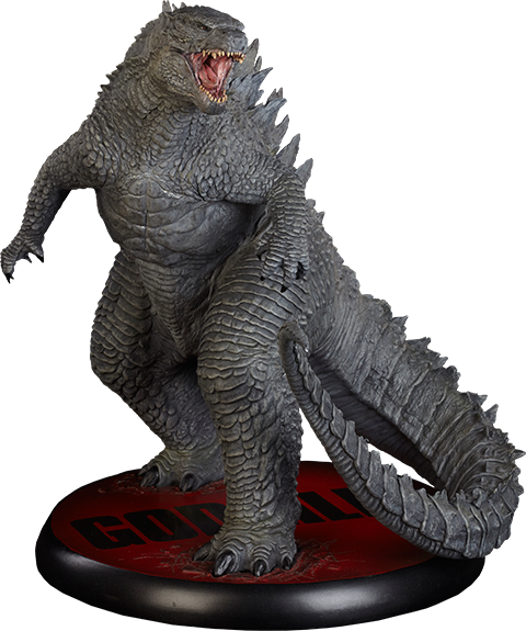 Monster statue png. Sideshow collectibles set to