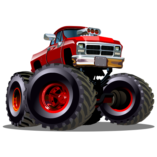 Monster truck png. Amazon com cool drag