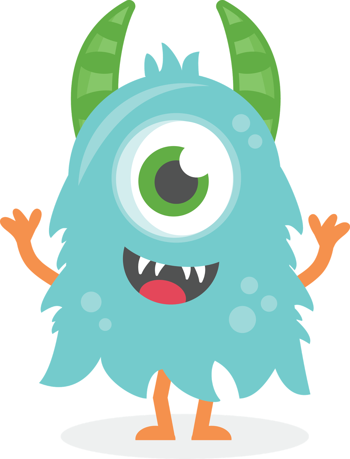 Monsters clip monster party. Clipart clipartlook hight resolution