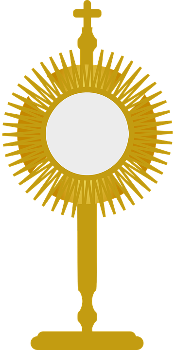 Collection of free blessed. Monstrance drawing svg royalty free download