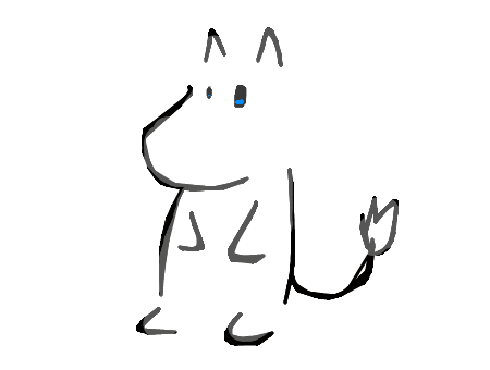 moomin drawing