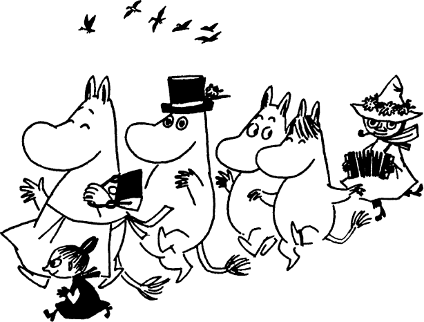 Moomin drawing. Gallery pinterest drawings gallerymoomin