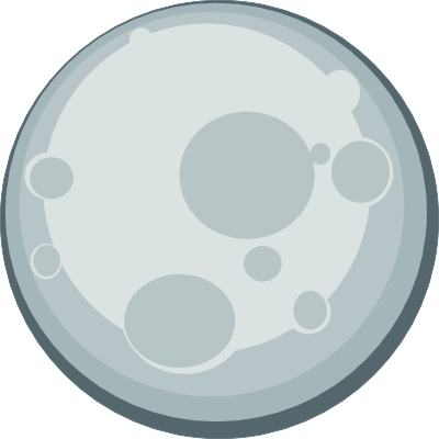 Moon clipart png. Transparent stickpng