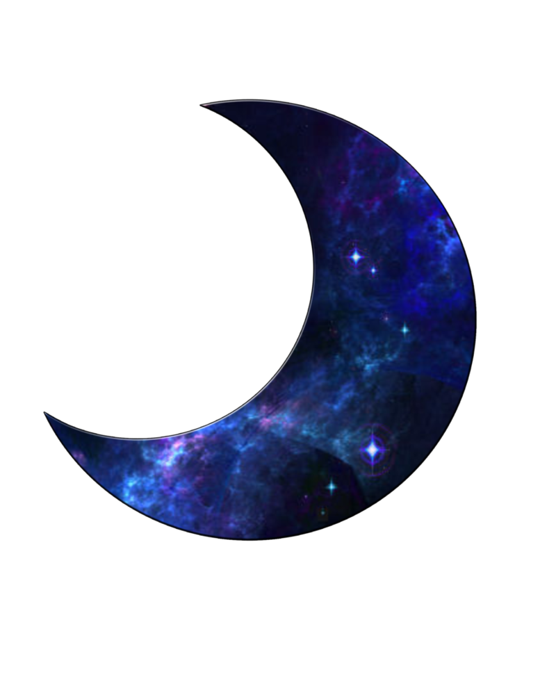 Blue moon png. By moonglowlilly on deviantart