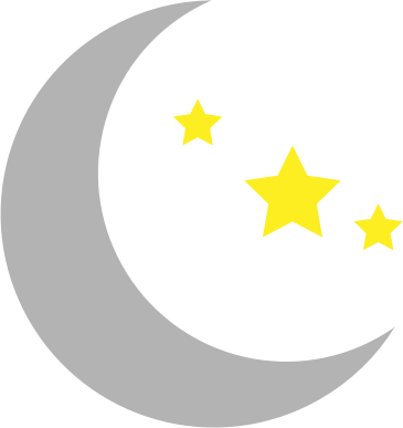 Moon clipart png. And stars medium image
