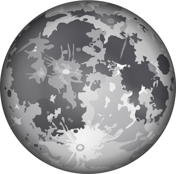 Moon clipart png. The clip art at