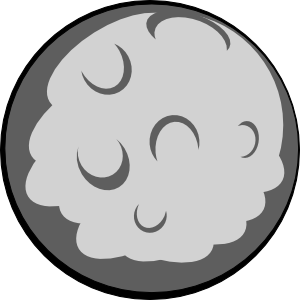 asteroid cartoon png