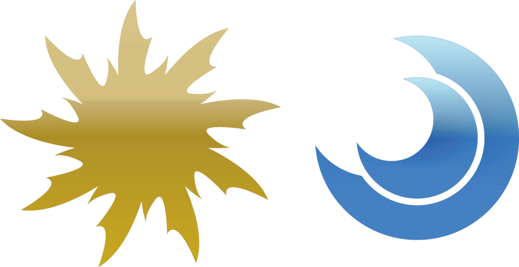 Moon logo png. Sun and by thenemetrix