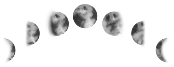 Moon phases png. Vector clipart psd peoplepng