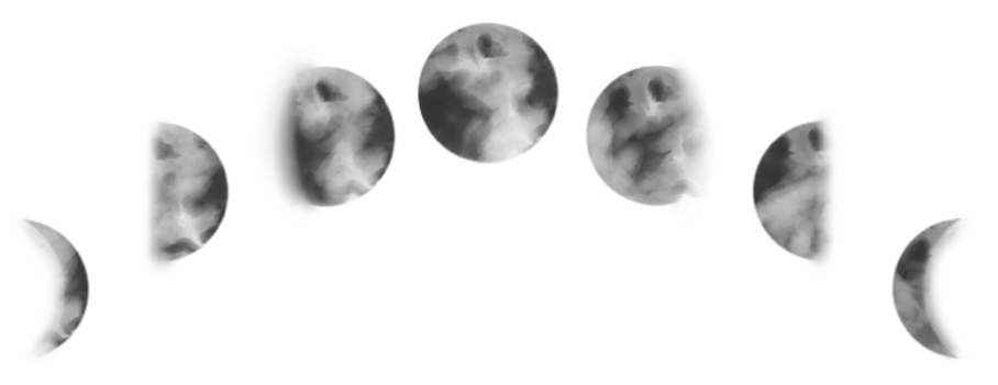 Moon phases png. Collection of drawing