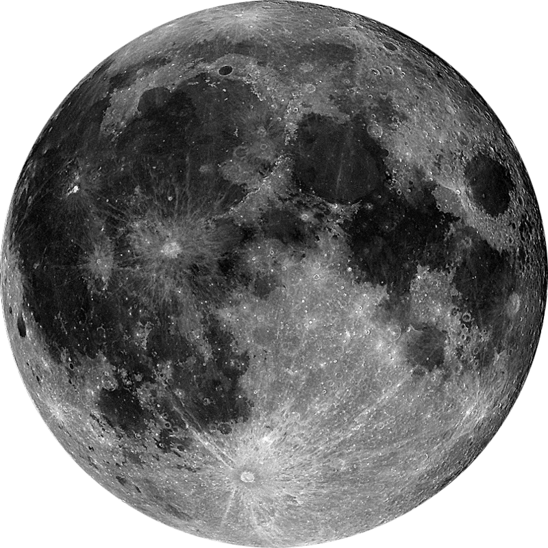 Moon png transparent. Very detailed stickpng