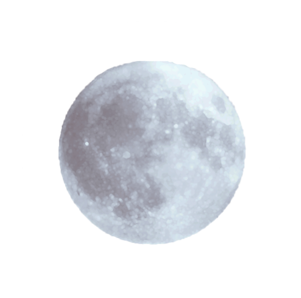 Hd drawing moon. Transparent png and clip
