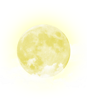 Yellow moon png. Hd quality and best
